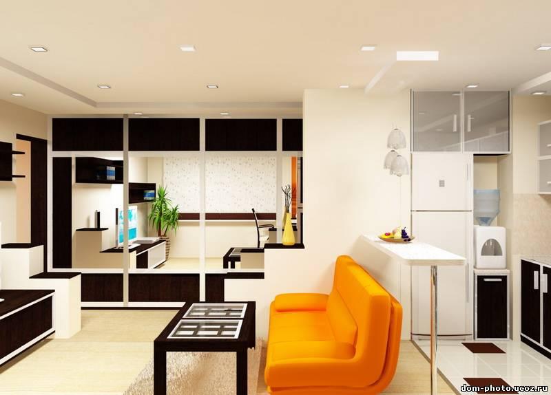 Кухня, совмещенная с гостиной: плюсы, минусы, приемы зониров.