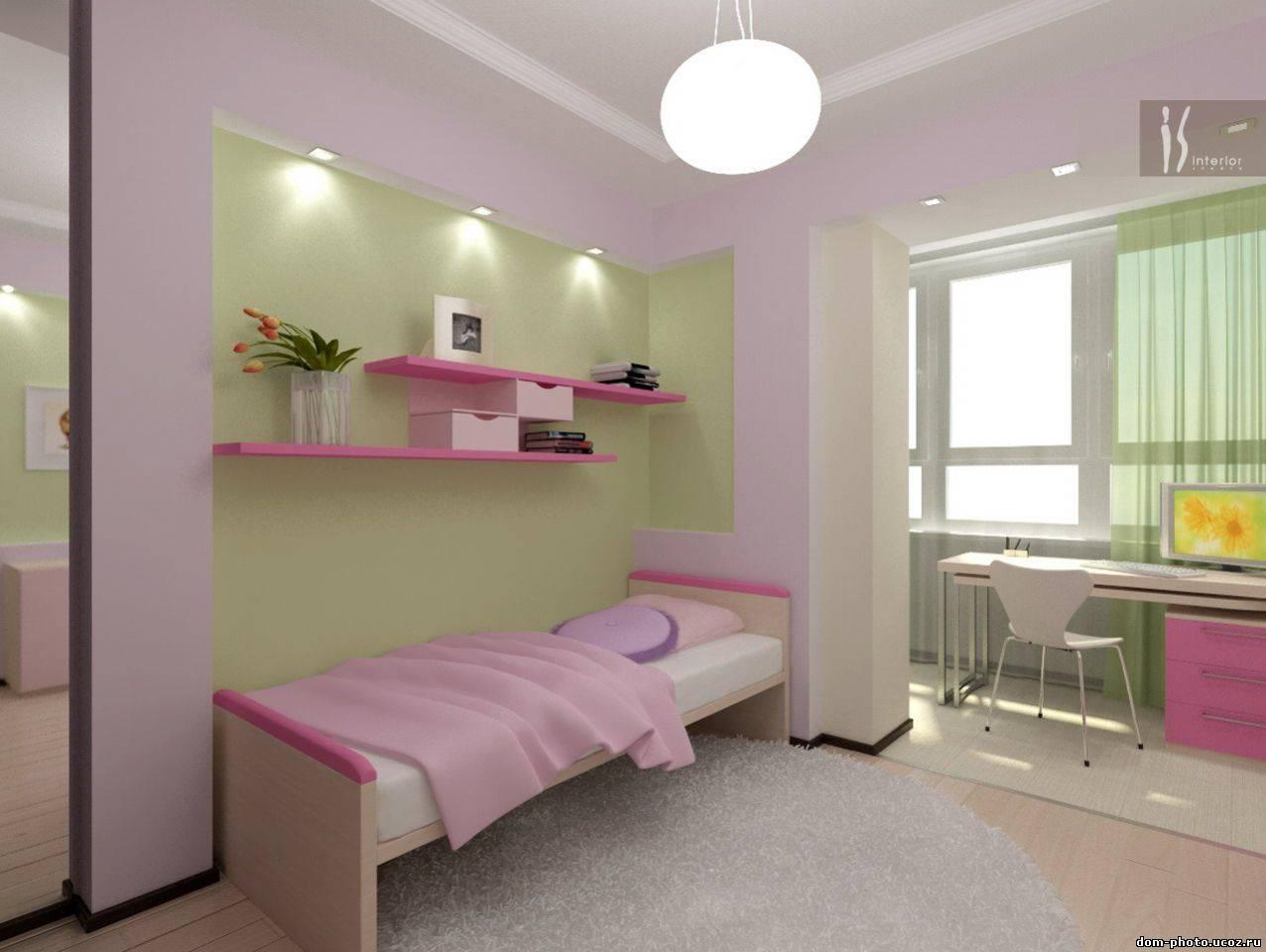 Комната на балконе дизайн для подростка..