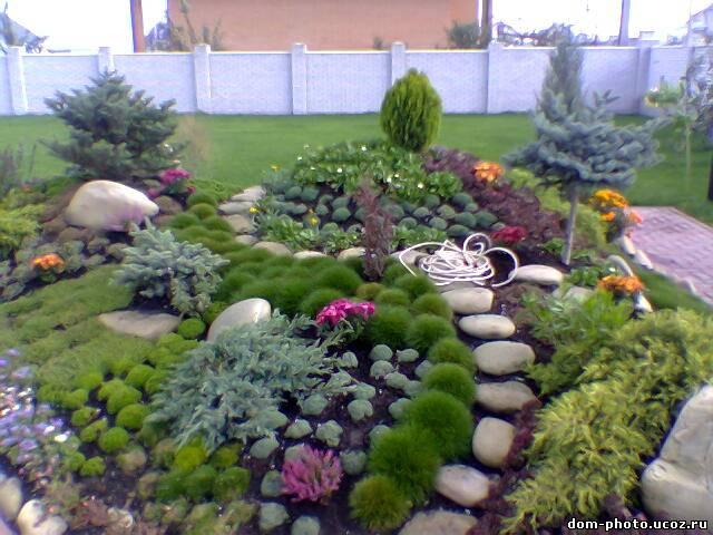 Как в саду сделать горку